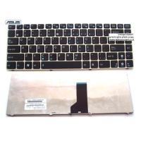 החלפת מקלדת למחשב נייד אסוס Asus A42 U41 Laptop Keyboard 9J.N1M82.S01 , V111362AS1
