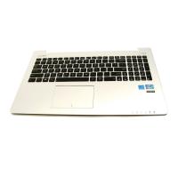 מקלדת כולל חיפוי פלסטיק ומשטח עכבר למחשב נייד אסוס ASUS 15.6