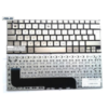 מקלדת לנייד אסוס זנבוק צבע כסוף Asus Zenbook UX21 UX21E series UK Silver MP-11A96GB6528