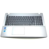תושבת פלסטיק עליונה כולל מקלדת ועכבר מגע למחשב אסוס Asus X550CA 15.6 Palmrest Touchpad Keyboard 13NB00T1AP1211 13N0-PEA0Q11