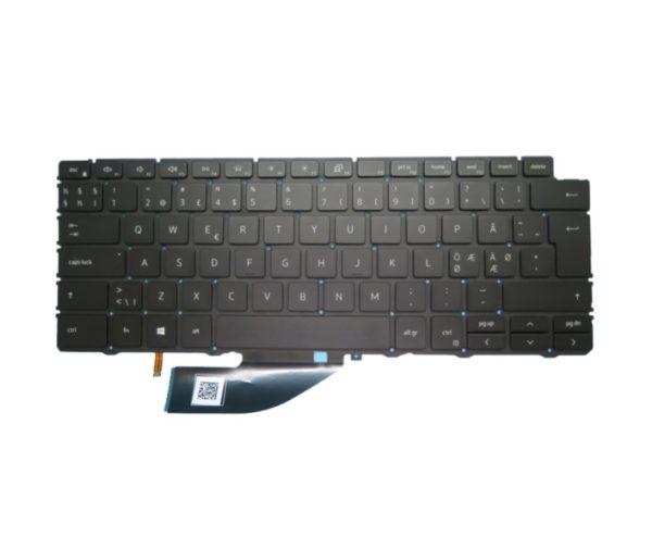 מקלדת למחשב נייד דל Dell XPS 13 7390 2-in-1 13.3 Laptop US Backlit Keyboard